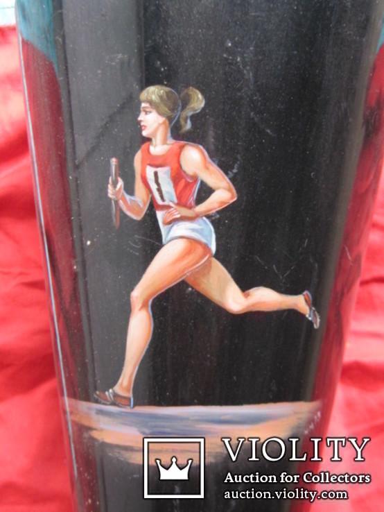 Спортивный кубок  СССР бег-эстафета, фото №3