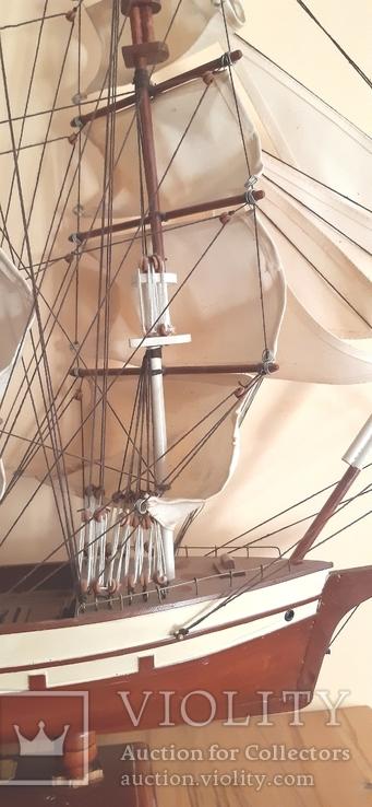 Корабль cutty sark 1869. Дарственная генерал-майору., фото №4
