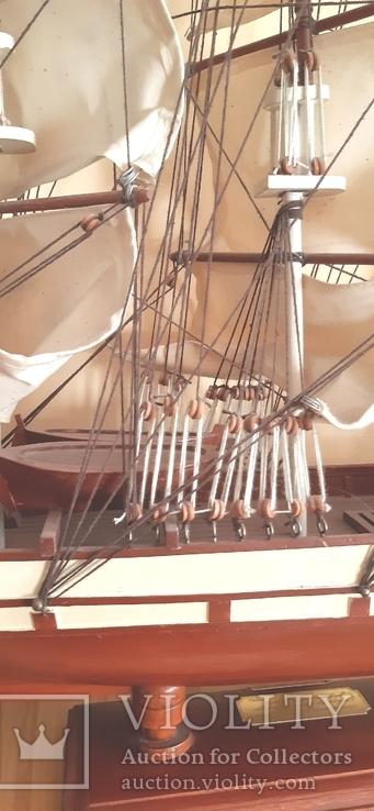 Корабль cutty sark 1869. Дарственная генерал-майору., фото №6