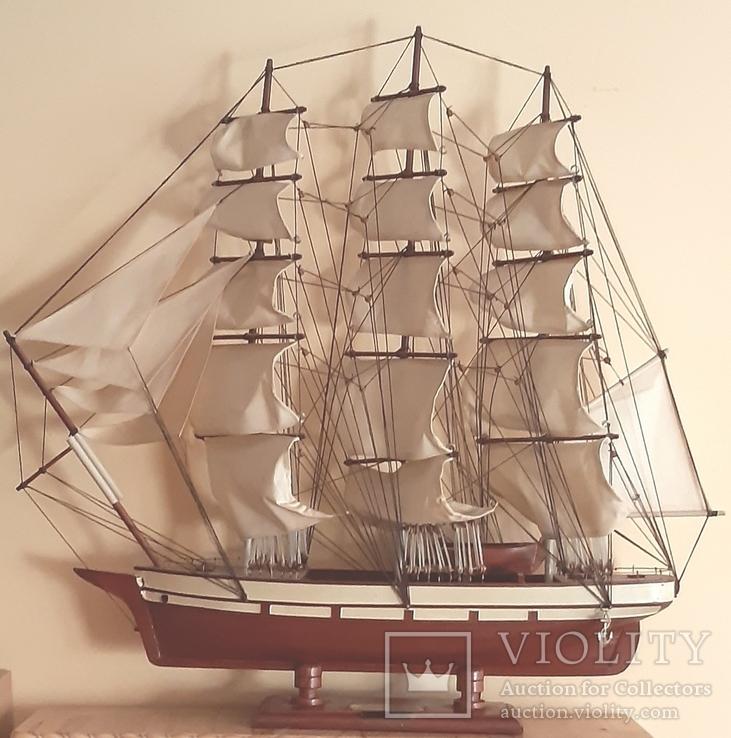 Корабль cutty sark 1869. Дарственная генерал-майору., фото №12