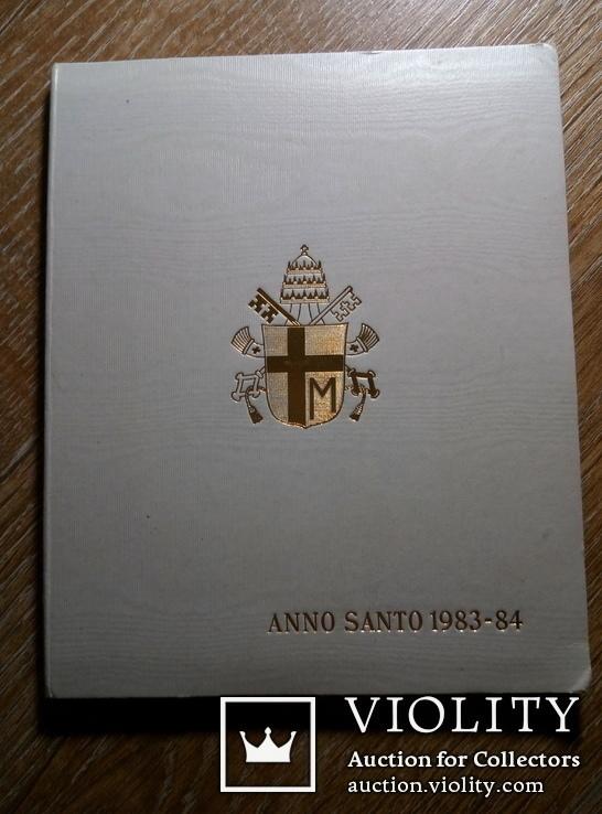 Ватикан 500 и 1000 лир (набор) 1983 - 1984 гг., фото №8