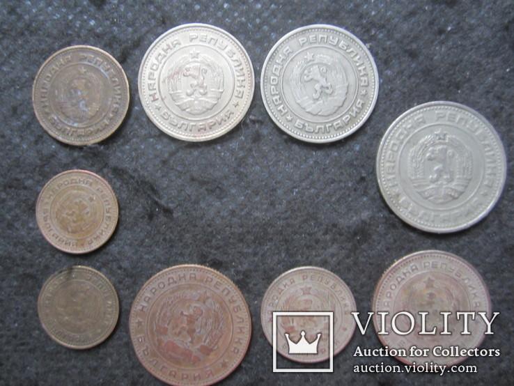 Монеты Болгарии 1962, 1974. ( 9 шт. )., фото №3