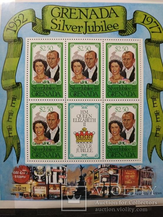 Британские колонии полная серия с надпечаткой MNH, фото №2