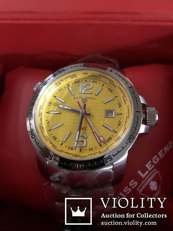 Swiss Legend Men's World Timer Swiss Made, фото №3