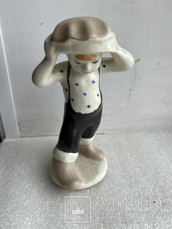 Статуэтка СССР Мальчик-грибочек, фото №2
