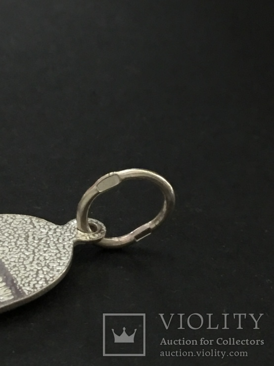 Иконка нательная серебряная, фото №5