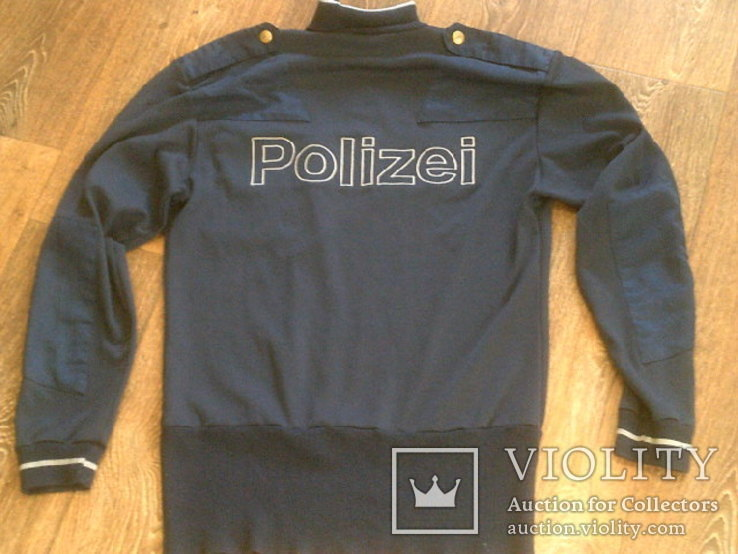 Куртка кожаная патрульная + свитер, фото №10