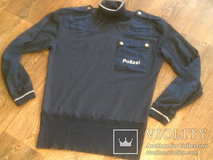 Куртка кожаная патрульная + свитер, фото №13