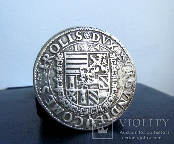 Гульден талер 1574 року Фердинанд Тіроль., фото №5