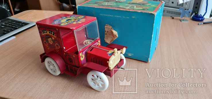 Жестяная машина Hi-Hi, фото №3