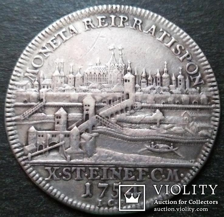 Талер 1754 год, Свободный Имперский Город Регенсбург, фото №5