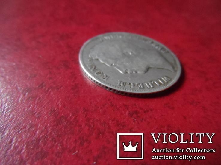 1 гульден  1839 Вюрттемберг  серебро    (А.1.24)~, фото №5
