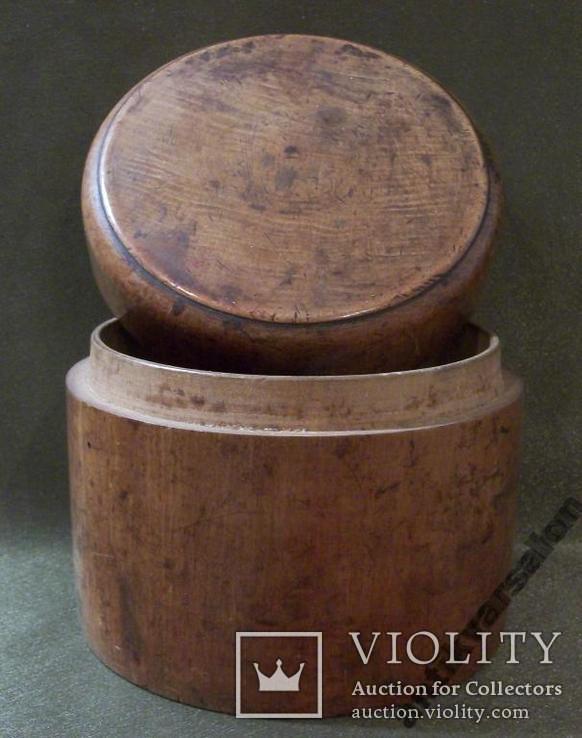 503 Старая шкатулка, коробка, дерево., фото №5