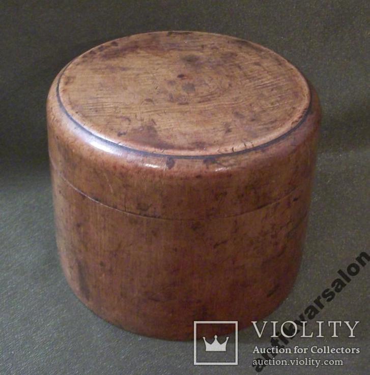 503 Старая шкатулка, коробка, дерево., фото №8