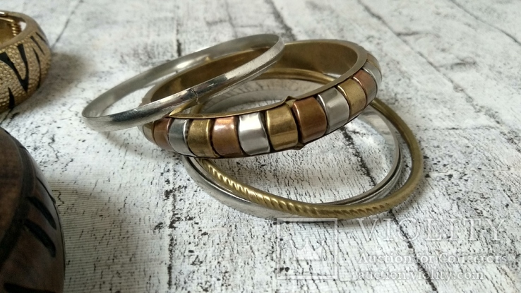 Лот браслетов 5 шт, фото №6