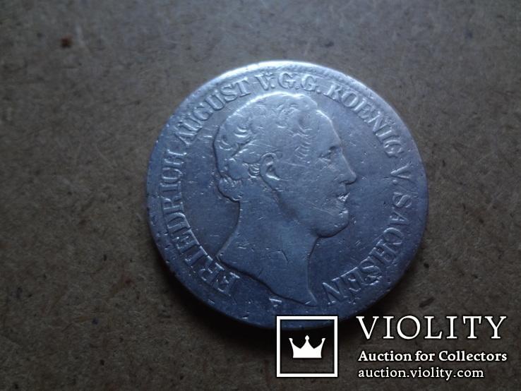1 талер 1853  Саксония  серебро    (9.8.11)~, фото №7