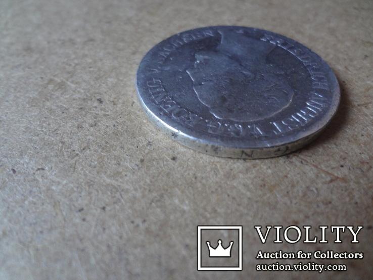 1 талер 1853  Саксония  серебро    (9.8.11)~, фото №8