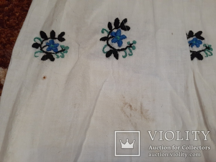 Сорочка жіноча 9 вишита гладью, фото №8