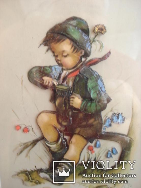 """Мальчик чистит башмачок"", фото №4"