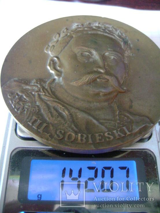Медаль. Ян ІІІ Собеский, фото №4