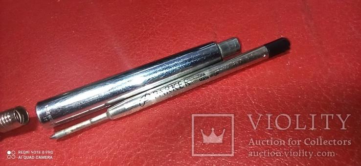 Ручка шариковая parker frontier usa, фото №8