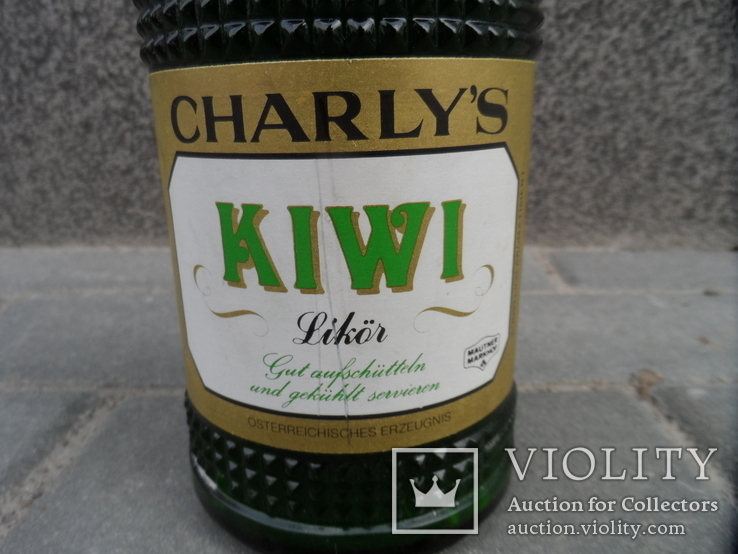 Ликер KIWI с мякотью CHARLYS 0.7 L Австрия, фото №6