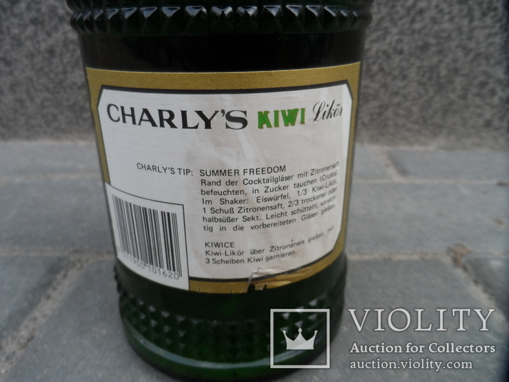 Ликер KIWI с мякотью CHARLYS 0.7 L Австрия, фото №8