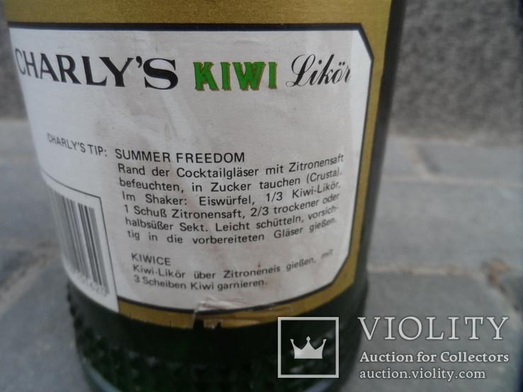 Ликер KIWI с мякотью CHARLYS 0.7 L Австрия, фото №11