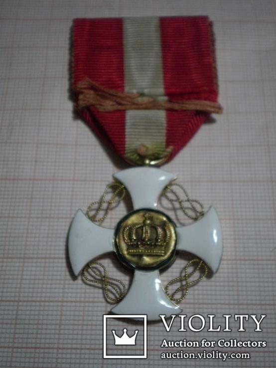 Золотой Орден Итальянской Короны 5-й степени, фото №3
