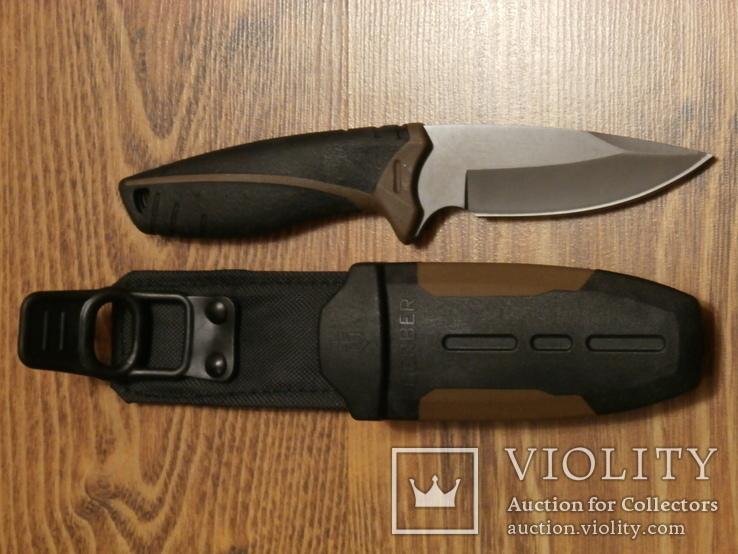 Набор для вижывания.Туристический топор + охотничий нож Gerber, фото №7