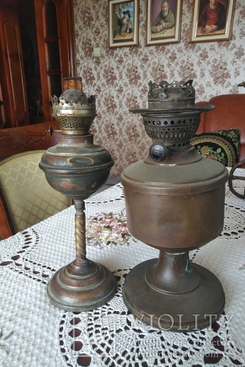 Дві лампи під реставрацію, фото №2