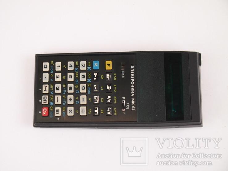 Калькулятор Электроника МК - 61, фото №6