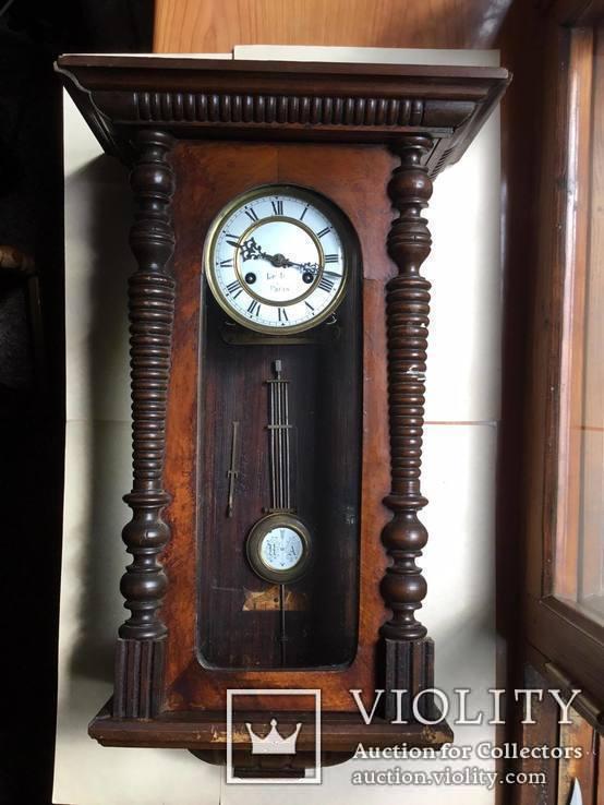 Старинные настенные часы  Le Roi a Paris, фото №2