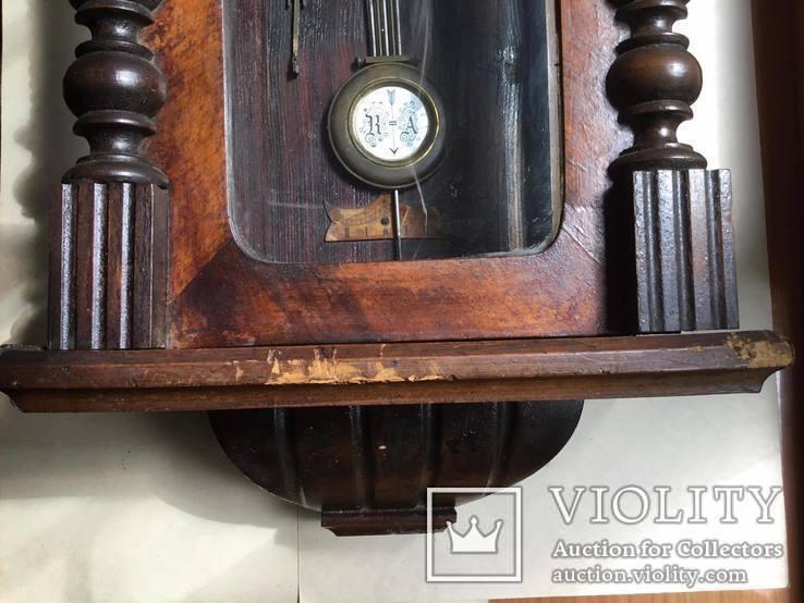 Старинные настенные часы  Le Roi a Paris, фото №8