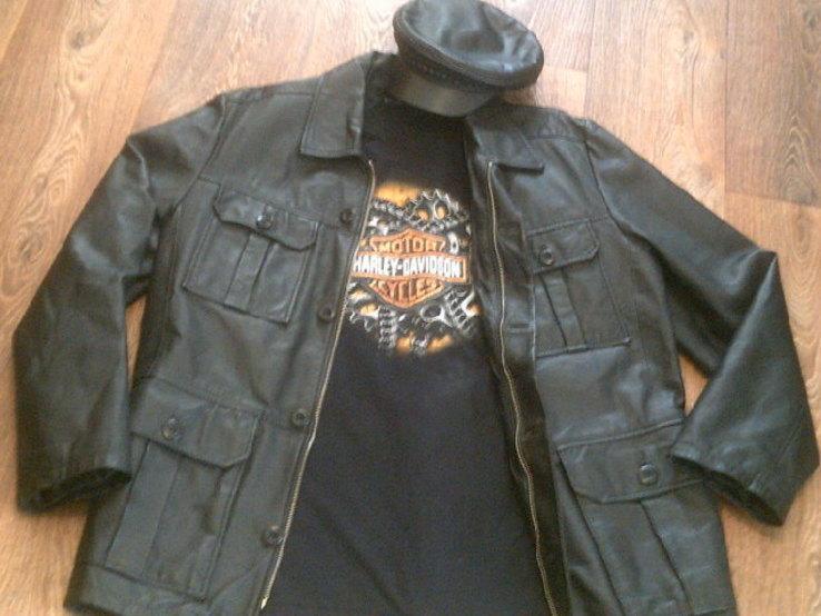 Tom Teilor + Harley Davidson разм. XL- куртка,футболка,кепка, фото №5