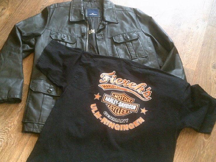 Tom Teilor + Harley Davidson разм. XL- куртка,футболка,кепка, фото №12