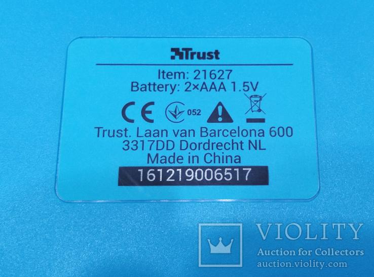 Клавиатура беспроводная Trust, фото №7