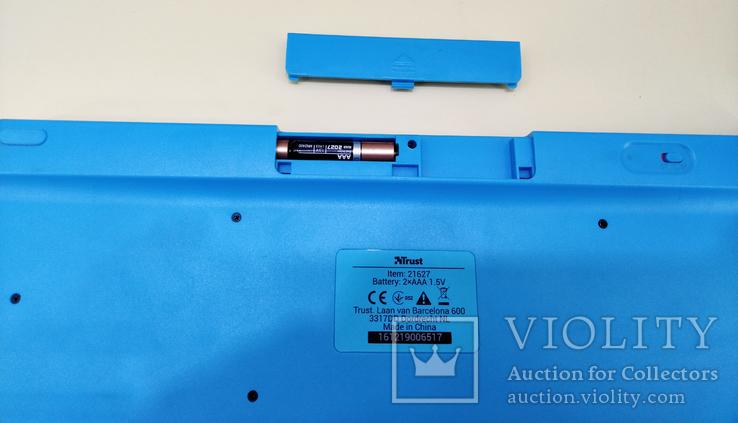 Клавиатура беспроводная Trust, фото №8