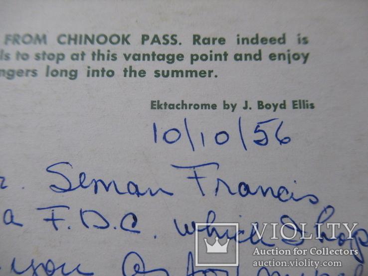 Семан Ференц (Ечи)  Открытка из США адресованная художнику, фото №9