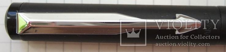 Новая перьевая ручка Parker Vector, made in UК. Перо F. Оригинал. Пишет мягко и тонко., фото №10