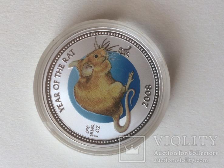 2 доллара, серебро, острова Питкерн, 2008 год, фото №4