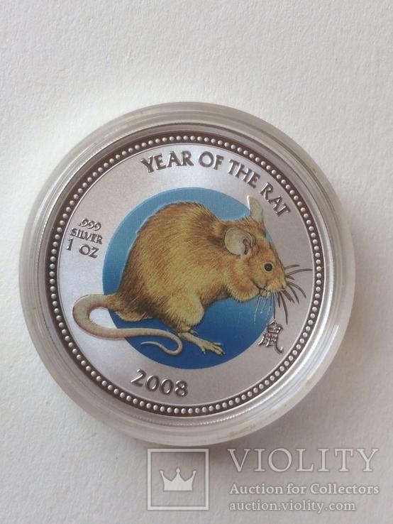 2 доллара, серебро, острова Питкерн, 2008 год, фото №5