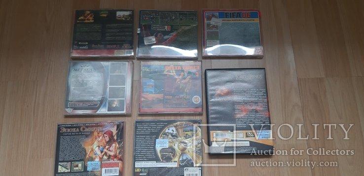CD диски с играми (8 игр), фото №3