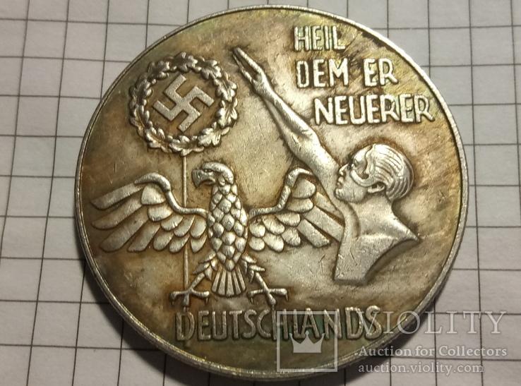 Копия Адольф Гитлер Германия 3- рейх # 139, фото №3