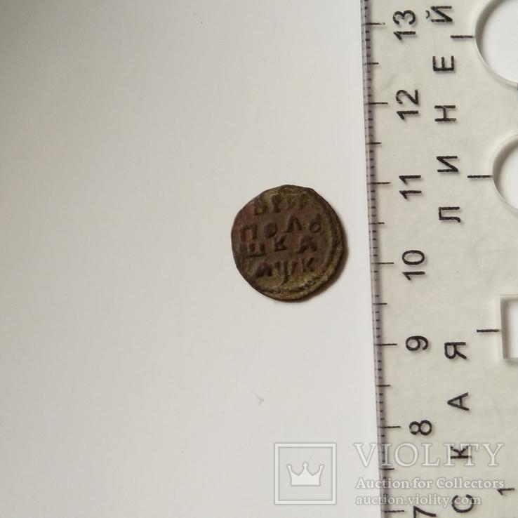 Полушка 1720 нд год буквами, фото №10