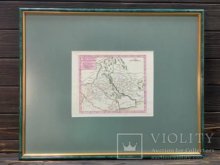 1749 Карта Подолья и Волыни 50х40 см.