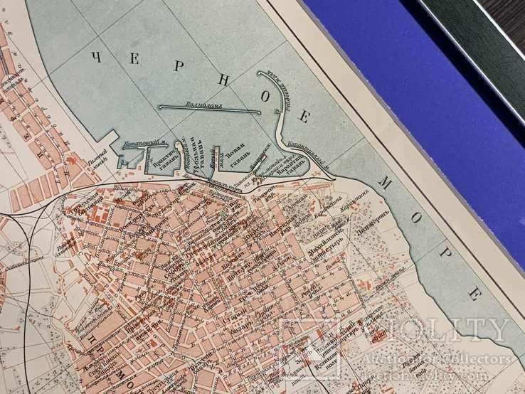 1900-е Карта Одессы, фото №3