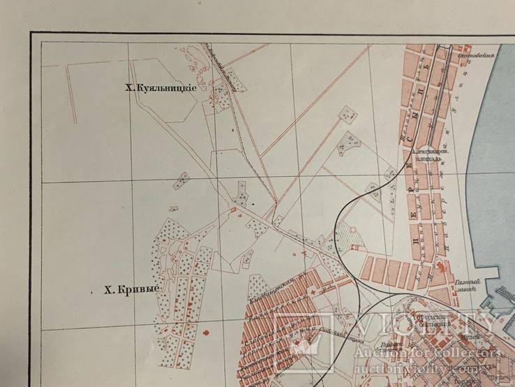 1900-е Карта Одессы, фото №5