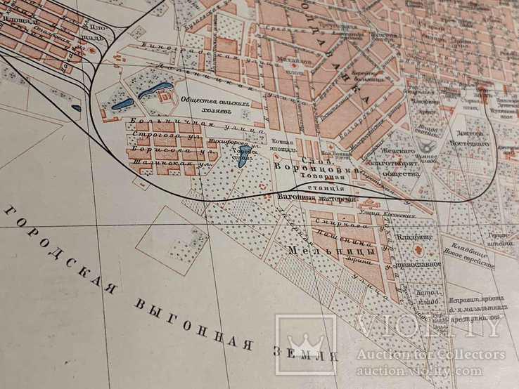 1900-е Карта Одессы, фото №6