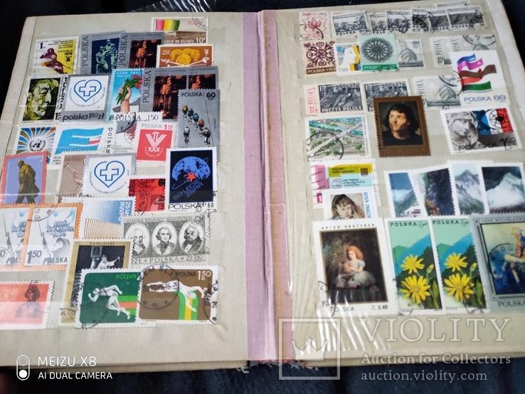 Кляссер с марками Европы + бонус гора марок, фото №6